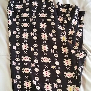Lularoe Skull leggings